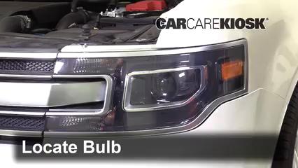 2018 Ford Flex Limited 3.5L V6 Turbo Sport Utility (4 Door) Luces Luz de giro delantera (reemplazar foco)