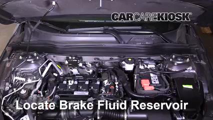 2018 Honda Accord LX 1.5L 4 Cyl. Turbo Liquide de frein