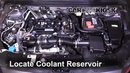 2018 Honda Accord LX 1.5L 4 Cyl. Turbo Antigel (Liquide de Refroidissement)