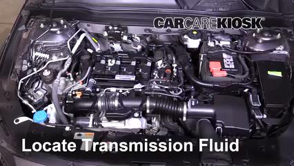 2018 Honda Accord LX 1.5L 4 Cyl. Turbo Liquide de transmission