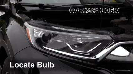 2018 Honda CR-V LX 2.4L 4 Cyl. Éclairage Feu de jour (remplacer l'ampoule)