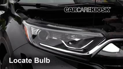 2018 Honda CR-V LX 2.4L 4 Cyl. Éclairage Feux de stationnement