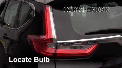 2018 Honda CR-V LX 2.4L 4 Cyl. Éclairage Feux de position arrière (remplacer ampoule)