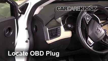 2018 Honda Clarity Plug-In Hybrid Touring 1.5L 4 Cyl. Lumière « Check engine » du moteur