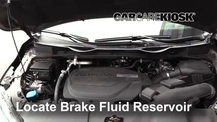 2018 Honda Odyssey EX-L 3.5L V6 Brake Fluid