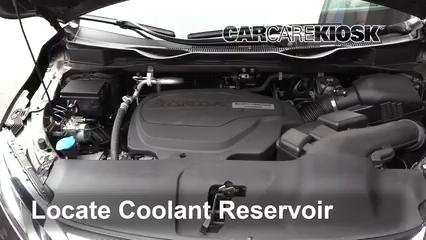 2018 Honda Odyssey EX-L 3.5L V6 Coolant (Antifreeze)