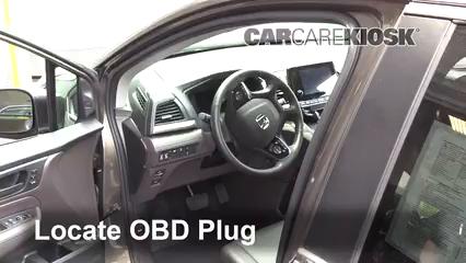 2018 Honda Odyssey EX-L 3.5L V6 Check Engine Light
