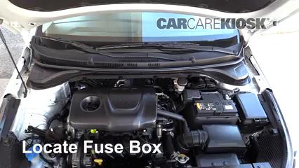 2018 Hyundai Accent SEL 1.6L 4 Cyl. Fusible (moteur) Contrôle