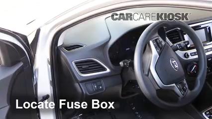 2018 Hyundai Accent SEL 1.6L 4 Cyl. Fusible (intérieur)