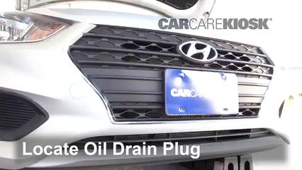 2018 Hyundai Accent SEL 1.6L 4 Cyl. Huile Changer l'huile et le filtre à huile