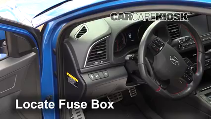 2018 Hyundai Elantra Sport 1.6L 4 Cyl. Turbo Fusible (interior)