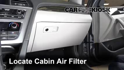 2018 Hyundai Sonata Hybrid Limited 2.0L 4 Cyl. Air Filter (Cabin)