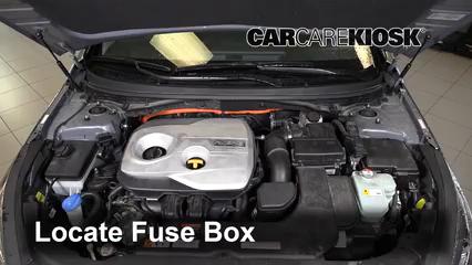 2018 Hyundai Sonata Hybrid Limited 2.0L 4 Cyl. Fusible (motor) Control