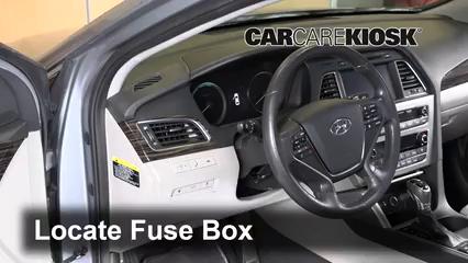 2018 Hyundai Sonata Hybrid Limited 2.0L 4 Cyl. Fuse (Interior)