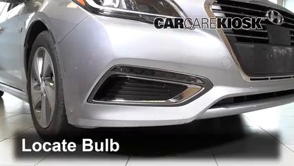 2018 Hyundai Sonata Hybrid Limited 2.0L 4 Cyl. Luces Luz de marcha diurna (reemplazar foco)