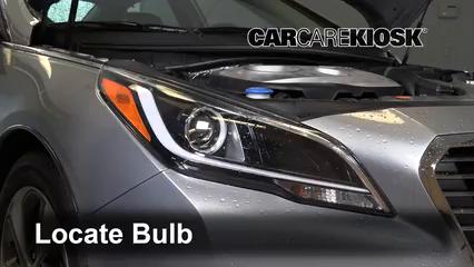 2018 Hyundai Sonata Hybrid Limited 2.0L 4 Cyl. Luces Luz de carretera (reemplazar foco)