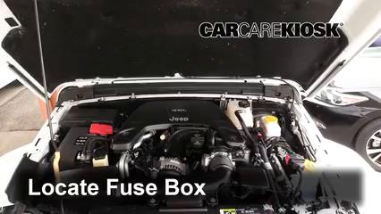 2018 Jeep Wrangler Unlimited Sport 3.6L V6 Fuse (Engine)