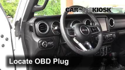 2018 Jeep Wrangler Unlimited Sport 3.6L V6 Check Engine Light
