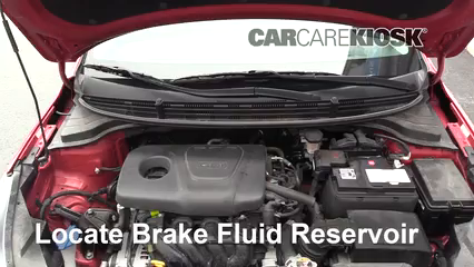 2018 Kia Rio S 1.6L 4 Cyl. Sedan Brake Fluid