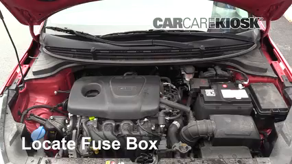 2018 Kia Rio S 1.6L 4 Cyl. Sedan Fuse (Engine)