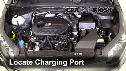 2018 Kia Sportage SX Turbo 2.0L 4 Cyl. Turbo Air Conditioner