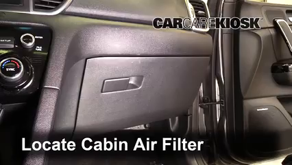 2018 Kia Sportage SX Turbo 2.0L 4 Cyl. Turbo Air Filter (Cabin)