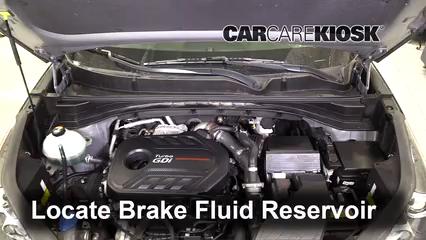 2018 Kia Sportage SX Turbo 2.0L 4 Cyl. Turbo Brake Fluid