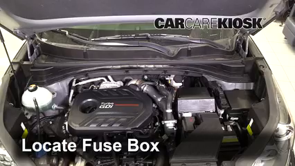 2018 Kia Sportage SX Turbo 2.0L 4 Cyl. Turbo Fuse (Engine)