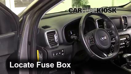2018 Kia Sportage SX Turbo 2.0L 4 Cyl. Turbo Fuse (Interior)