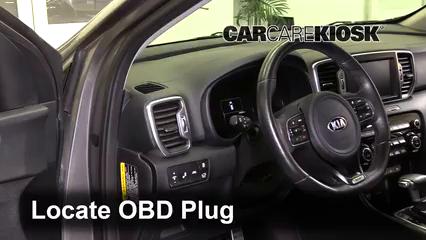 2018 Kia Sportage SX Turbo 2.0L 4 Cyl. Turbo Check Engine Light
