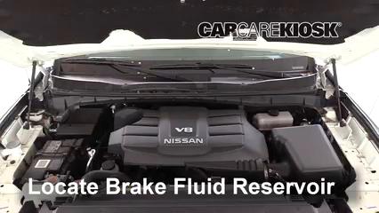 2018 Nissan Titan SV 5.6L V8 Extended Cab Pickup Brake Fluid