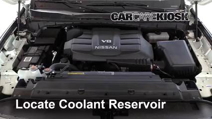 2018 Nissan Titan SV 5.6L V8 Extended Cab Pickup Coolant (Antifreeze)