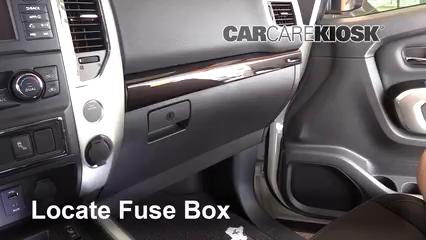 2018 Nissan Titan SV 5.6L V8 Extended Cab Pickup Fuse (Interior)