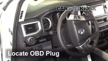 2018 Nissan Titan SV 5.6L V8 Extended Cab Pickup Check Engine Light