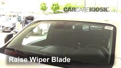 2018 Nissan Titan SV 5.6L V8 Extended Cab Pickup Windshield Wiper Blade (Front)
