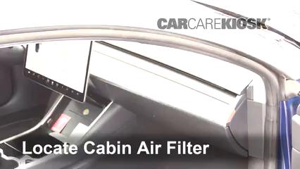 2018 Tesla 3 Electric Filtro de aire (interior)