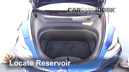 2018 Tesla 3 Electric Líquido limpiaparabrisas