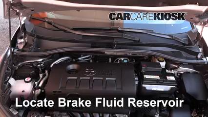 2018 Toyota C-HR XLE 2.0L 4 Cyl. Brake Fluid
