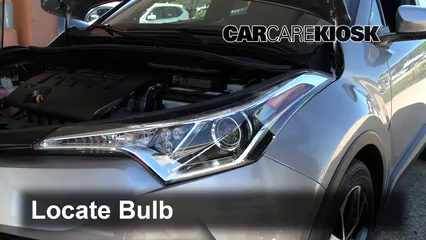 2018 Toyota C-HR XLE 2.0L 4 Cyl. Lights Headlight (replace bulb)