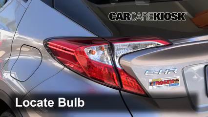 2018 Toyota C-HR XLE 2.0L 4 Cyl. Lights Tail Light (replace bulb)
