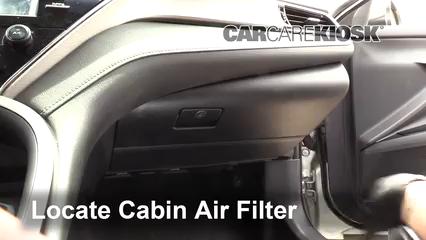 2018 Toyota Camry SE 2.5L 4 Cyl. Filtro de aire (interior)