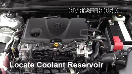 2018 Toyota Camry SE 2.5L 4 Cyl. Pérdidas de líquido