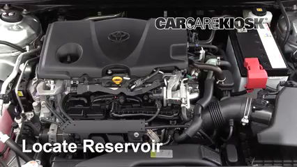 2018 Toyota Camry SE 2.5L 4 Cyl. Líquido limpiaparabrisas