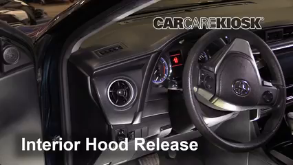 2018 Toyota Corolla XLE 1.8L 4 Cyl. Capó