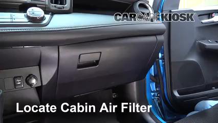 2018 Toyota RAV4 XLE 2.5L 4 Cyl. Filtro de aire (interior)