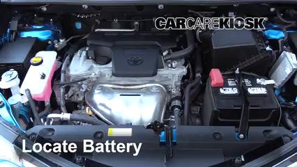 2018 Toyota RAV4 XLE 2.5L 4 Cyl. Batería