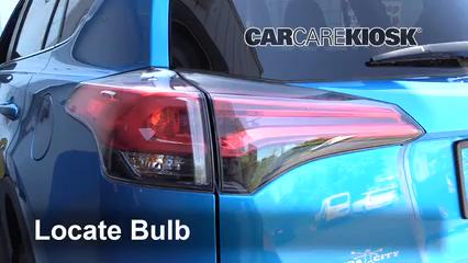 2018 Toyota RAV4 XLE 2.5L 4 Cyl. Luces
