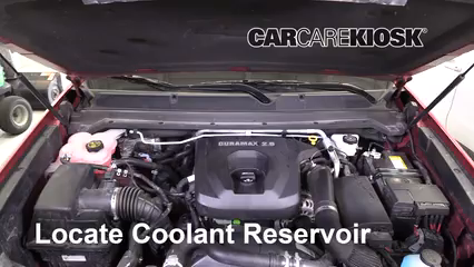 2019 Chevrolet Colorado Z71 2.8L 4 Cyl. Turbo Diesel Crew Cab Pickup Fluid Leaks