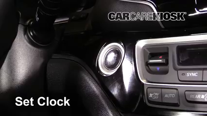 2019 Honda Passport Elite 3.5L V6 Clock Set Clock