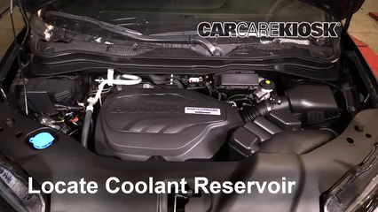 2019 Honda Passport Elite 3.5L V6 Coolant (Antifreeze) Fix Leaks